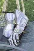 Gloves war — Stock Photo