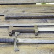 Steel Medieval Swords — 图库照片