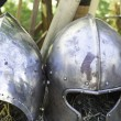 Armor of medieval war — 图库照片