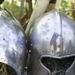 Armor of medieval war — Foto Stock