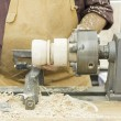 Wood turner — Stock Photo #29876619