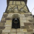 Belltower with cross — Stock Photo