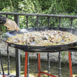 cuisson paella — Photo