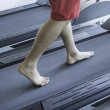 Treadmill in gym — Stock Photo