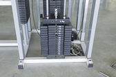 Weightlifting and Workout Machine — Foto de Stock