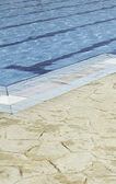 Konkurrens swimmingpool — Stockfoto