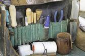 Garbarze narzędzia — Zdjęcie stockowe