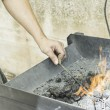 Iron Forge — Stock Photo