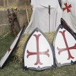 knights templar — Stock Photo