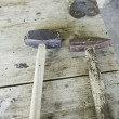 Stock Photo: Rusty Hammer