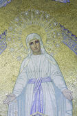 Mosaic of Virgin Mary — Stock Photo
