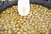 Pitted olives — Stock Photo