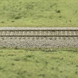 Stock Photo: Track model train