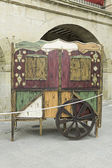 Wooden wagon — Photo