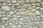 Stone wall house — Stock Photo