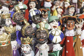 Varied puppets — Foto Stock