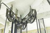 Elevator gear — Stock Photo