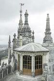 Gothic stone castle — 图库照片