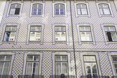 Building with tiles — Foto Stock