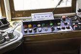 Control Panel tram — Stock Photo