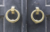 Кольца Золотые ворота — Стоковое фото