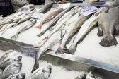 Fisk för försäljning handel — Stockfoto