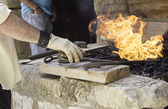 Blacksmith melting — Stock fotografie