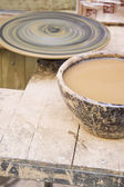Mud pottery — Foto Stock