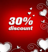 Discount of 30 per cent — Stockfoto