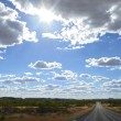 Australian outback. - Stock Photo