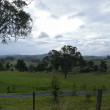Stock Photo: Australia. Victoria. Panoramof farming fairytale land.