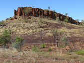 Storied australian outback. Australia, Northern territory. — Stock Photo