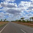 Stock Photo: Storied australioutback. Australia, Queensland.