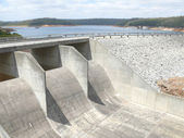 Vody trezor s přehradou v perthu, 29 listopad 2007 v perthu, austrálie. — Stock fotografie