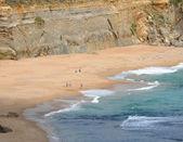与岩石形成海滨。大洋路,澳大利亚,维多利亚州国家公园. — 图库照片
