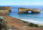 The Seaside with rocky formation, the Grotto. Great Ocean Road, Australia, Victoria, National park. — Stock Photo