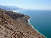 Jordânia. mar morto, na tarde. — Fotografia Stock