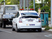 Townsville. Australia. City. Taxi. — Stock Photo
