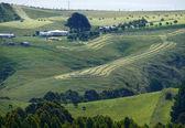 Landschaft Natur. Bauernhof. — Stockfoto