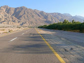 Jordan. Road. — Stock Photo