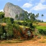 Africa, Ethiopia. Mountains amazing shape. — Stock Photo #40187265