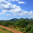 Forested mountains. Landscape nature. Africa, Ethiopia. — Stock Photo #41290615