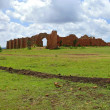 Ruins. Former defensive ancient fortification. Africa, Ethiopia. — Stock Photo #41360579