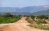 Jungle-covered mountains. Africa, Ethiopia. Landscape nature. — Stock Photo