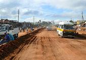Kibiti, tanzania - dicembre 2, 2008: il villaggio. — Foto Stock