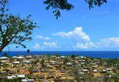 Pemba. A city in Mozambique, Africa. Indian ocean coast. — Stock Photo