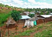 The settlement Gorongosa. Mozambique, Africa. — Стоковое фото