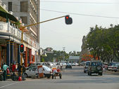 Maputo, Mozambique - December 11, 2008: in the capital of Mozamb — Stock Photo