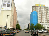 Maputo, Mozambique - December 12, 2008: in the capital of Mozamb — Stock Photo