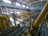 RUSSIA, NADYM - JUNE 8, 2011: Equipment of corporation GAZPROM i — Zdjęcie stockowe